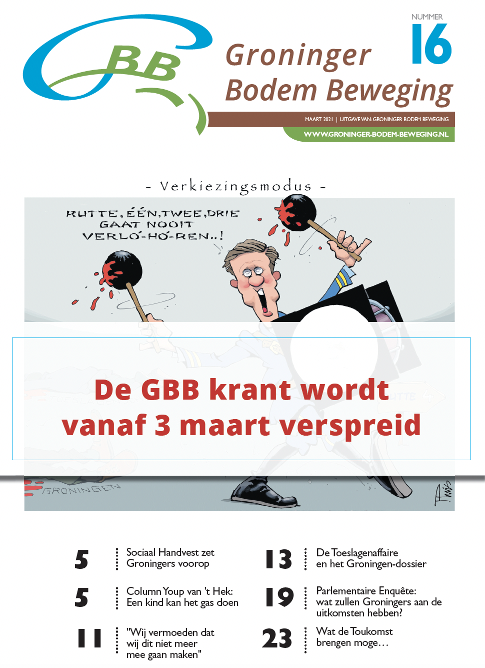GBB krant falend systeem Groningers